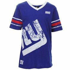 Youth New York Giants Royal/Black T-Shirt & Hoodie Set