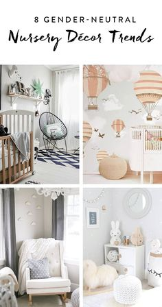 8+Gender-Neutral+Nursery+Decor+Trends+for+Any+Boy+or+Girl+via+@PureWow