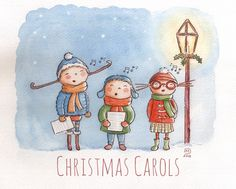 Christmas Carols by Isabelle Monnerot-Dumaine