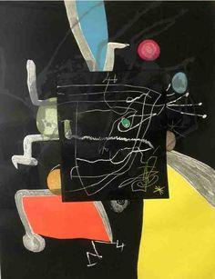 Joan Miró - Book of the Six Senses (#5) | 1stdibs.com