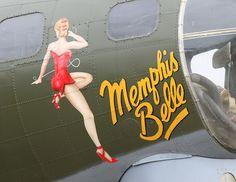 The Memphis Belle.  I got to see it and go inside of it in the early 90's when it was in Naples, Fl.  Awesome history...