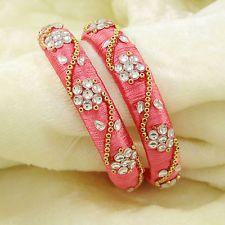 Silk Thread Earrings Designs, Silk Thread Bangles Design, Silk Bangles, Beaded Necklace Patterns, Bridal Bangles, Thread Jewellery, Jewelry Patterns, Quilling Jewelry, Diy Jewelry