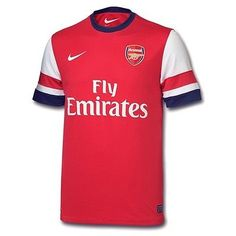 e0a2ab94743 BNWT Nike ARSENAL 2012-13 Home Jersey Shirt Soccer Football Mens Sizes -  SALE!!