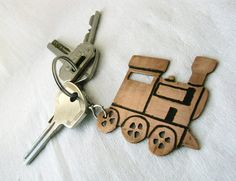 Personalized men's keyring gift  Valentines day by PikipokaJewelry