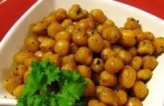 Garbanzos tostados al horno Recetas Vegetarianas