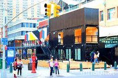 Shipping Containers On Pinterest Shipping Container Homes Shipping Container Houses And