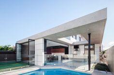 Studio Benicio Designs an Open Contemporary Home in Concord, a Suburb of Sydney, Australia