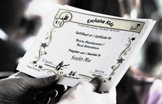 How to Make Your Own Printable Certificate    Printable gift certificates can make good gifts for friends and family. This article highlights some of the options of how to make your own individual printable gift certificates, making use of the internet and some basic computer equipment.