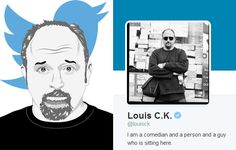 Even for the surrealist comedian and filmmaker, Louis CK's tweets after a 2-month lapse have been, well, kinda strange..