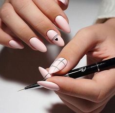 In search for some nail designs and some ideas for your nails? Here's our listing of must-try coffin acrylic nails for stylish women. Nail Manicure, Diy Nails, Cute Nails, Pretty Nails, Nail Polish, Modern Nails, Minimalist Nails, Nagel Gel, Best Acrylic Nails