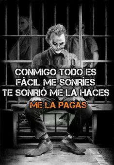 Ironia y Sarcasmo | Mis Fotos | Page 76 Joker Frases, Joker Quotes, Funny Phrases, Love Phrases, Joker Cosplay, Motivational Phrases, Inspirational Quotes, Suicide Squad, Joker And Harley Quinn