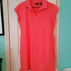 New york & company polo dress (238) New york & company coral polo dress worn 1? New York & Company Dresses Midi