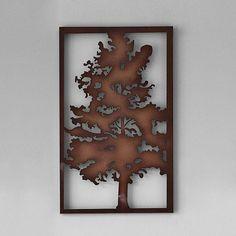 'Rustic Tree' Metal Wall Art