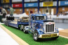 Peterbilt with heavy duty flatbed