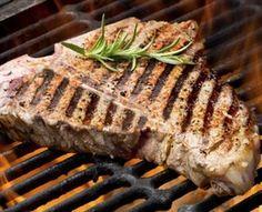 Grilled T-Bone Steaks with BBQ Rub