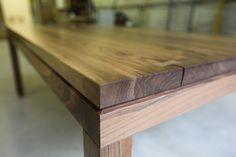 Table in solid european walnut by alexfindlater.com