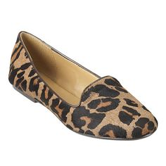 """As seen in the September issues of Glamour & InStyle.....round toe smoking flat with 1/4"""" heel."""