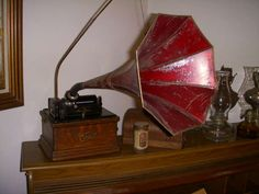 North Holiday Hills in Spring Lake, MI starts on Edison Phonograph, Spring Lake, Living Room Green, Desk Lamp, Horn, Romantic, Tv, Holiday, Home Decor