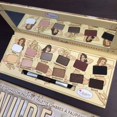 Pro Cosmetic eye shadow nake makeup new the balm nude tude 12 colors eyeshadow Palette with Brush