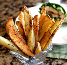 Crispy Parmesan Oven Fries from @jamiecooksitup