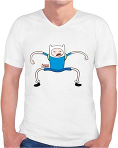 Adventure Time - Prenses Ciklet Kendin Tasarla - Erkek V Yaka Tişört