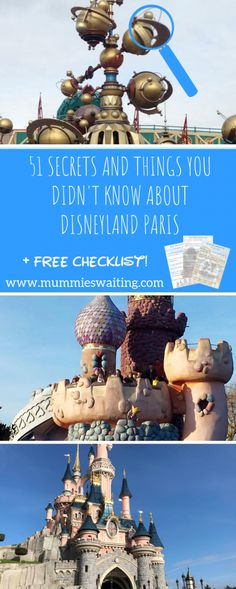51 secrets and things you didn't know about Disneyland Paris - Mummies Waiting - Trend Parks Disney 2020 Disney Park Secrets, Disneyland Secrets, Disney World Tips And Tricks, Disney Tips, Disney Fun, Disney Cruise, Disney Vacations, Disney Parks, Disney Travel