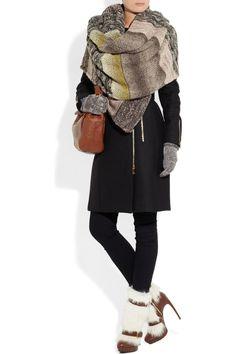 Missoni   Chunky-knit shawl   NET-A-PORTER.COM