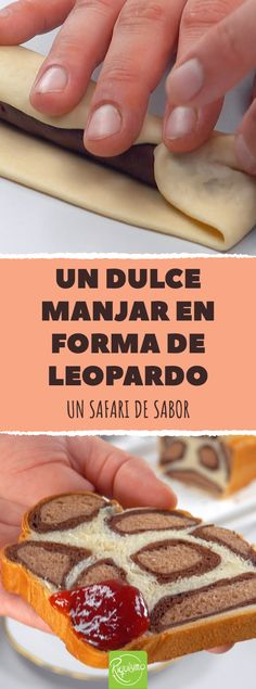 animal print as a treat - Trendy animal print as a treat. Homemade milk bread in Leo look br -Trendy animal print as a treat - Trendy animal print as a treat. Homemade milk bread in Leo look br - Authentic Mexican Recipes, Mexican Food Recipes, Sandwich Bar, Sandwich Fillings, Dessert Simple, Chicken Sandwich Recipes, Dessert Dips, Healthy Sandwiches, Pan Dulce