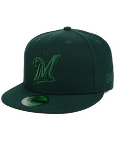 New Era Milwaukee Brewers Fall Prism Pack 59FIFTY-fitted Cap - Green 7 1  6c874294ca90