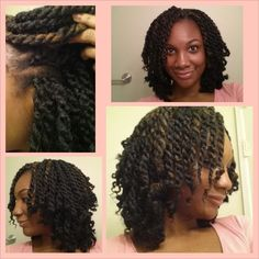 crochet twist braids | Havana Marley Twist Using Crochet Method | naturalhairfanatic