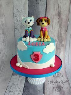 Paw Patrol- Sky and Everest by Aurelia's Cake