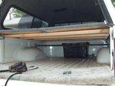 Sleeping Platform Designs Camping Truck Bed Camping