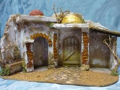 Resultado de imagen para case presepe palestinese Nativity, Gazebo, Shed, Images, Outdoor Structures, Garden, Case, Painting, Google