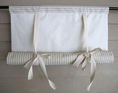 Verde salvia 48 pulgadas largo algodón marcando sueco ruede para arriba la cortina etapa entrenador ciegos atar cortina botín globo granja moderna simplicidad