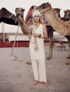 Boho Style Icon: Angela Lindvall in Morocco