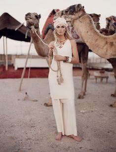 Angela Lindvall morocco