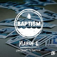 We're just a few weeks away from our next #BaptismSunday! Join us on 3.6 as we witness the incredible life change happening in our community. Sign up at crosspoint.tv/baptism (link in profile). #CPBaptism