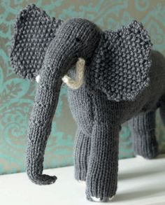 'Knit your own zoo' elephant