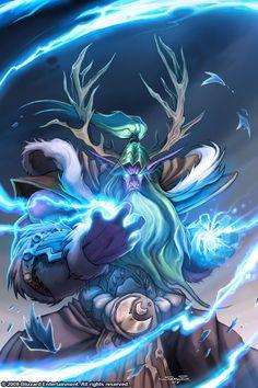 #warcraft #elfe #elf #druide #druid #broll #bearmantle