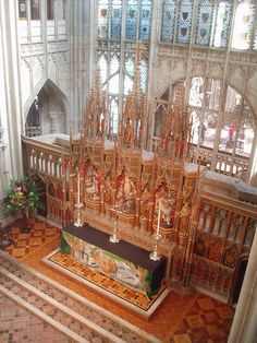 High Altar, Gloucester Cathedral | Flickr - Photo Sharing!