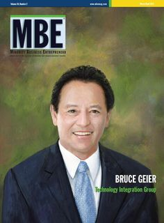 MBE Magazine Cover March/April 2013