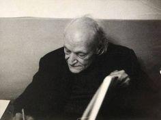 Giuseppe Ungaretti by Mario Dondero, 1969
