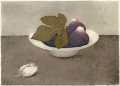 Image result for contemporary still life etching