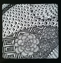 Tickled To Tangle: My Summer Project - Part 5