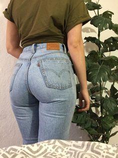 levis jeans tolle levis 501 im User Look :) Bundweite 37 cm Levis Jeans, Levi Mom Jeans, Denim, Club Outfits For Women, Shorts Outfits Women, Clothes For Women, Estilo Hippie, Sexy Jeans, Curvy Jeans
