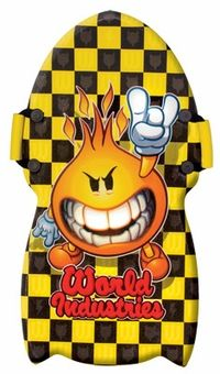 world industries flameboy/wet willy snow sled
