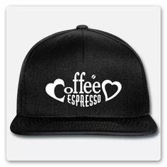 T-SHIRT, MIT DEM TEXT KAFFEE ESPRESSO ZWISCHEN ZWEI HERZEN. ES GIBT KAFFEE  UND KUCHEN, DANN KANN DER KAFFEEKLATSCH MIT DEM PERFEKTEN T-SHIRT  BEGINNEN. KAFFEELIEBHABER, KAFFEESÜCHTIGE, KAFFEEGENIEßER. Espresso, Hats, Fashion, Two Hearts, Coffee Meeting, Kuchen, Espresso Coffee, Moda, Hat