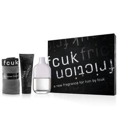 French Connection 3 Piece Fcuk Friction Fragrance Gift Set for Men ** You can find out more details at the link of the image.