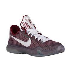 Nike Kobe X Elite - Boys\u0027 Grade School - Bryant, Kobe - Team Red/Metallic  Cool Grey/Cool Grey/White