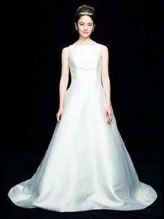 Bangs, One Shoulder Wedding Dress, Wedding Dresses, Hair, Image, Fashion, Fringes, Bride Dresses, Moda